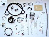 Комплект поставки Webasto Thermo Top Evo Start дизель 12 Вольт